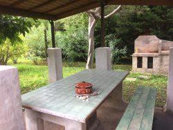 table extérieure.